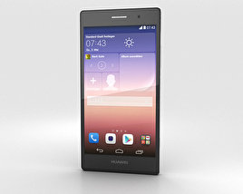 3D model of Huawei Ascend P7 Black
