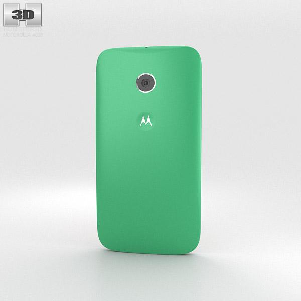 Motorola Moto E Spearmint & White 3d model