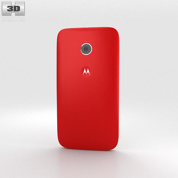 Motorola Moto E Cherry & White 3d model
