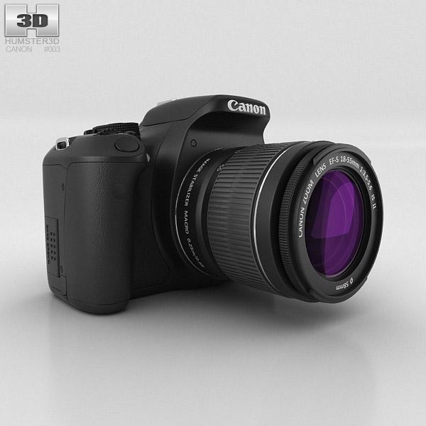 Canon EOS 600D 3D model