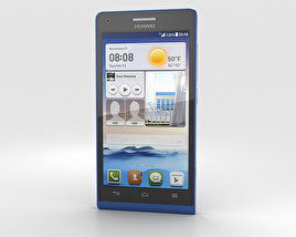 3D model of Huawei Ascend G6 Blue