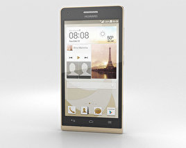 3D model of Huawei Ascend G6 Gold