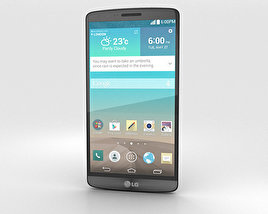 3D model of LG G3 Metallic Black