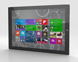 3D model of Microsoft Surface Pro 3