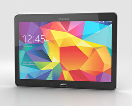 3D model of Samsung Galaxy Tab 4 10.1-inch LTE Black