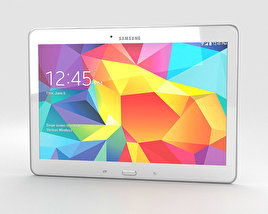 3D model of Samsung Galaxy Tab 4 10.1-inch LTE White