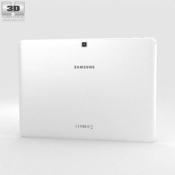 Samsung Galaxy Tab 4 10.1-inch LTE White 3d model