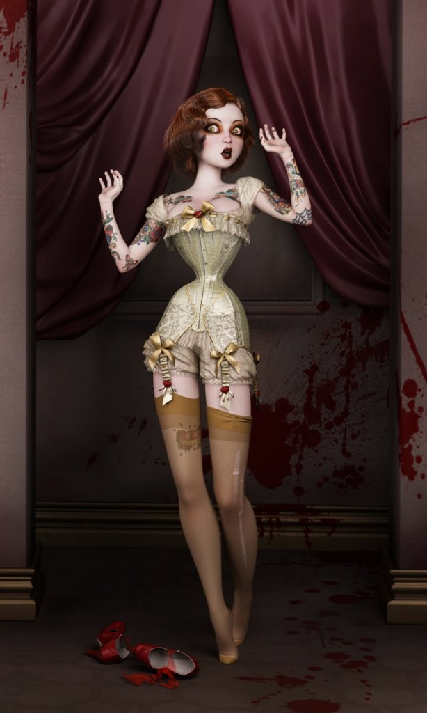 Twisted Dolls: The Butcher´s Bride