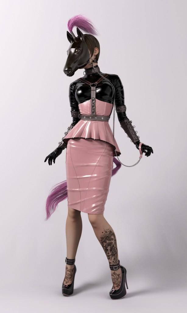 Plastic Series: Pink Amazon
