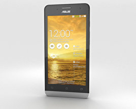 3D model of Asus Zenfone 5 Champagne Gold