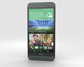 3D model of HTC One (E8) Black