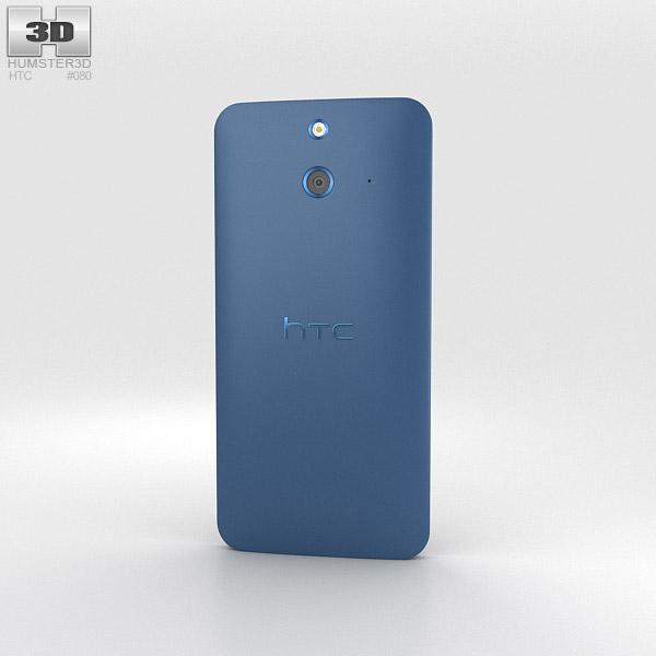 HTC One (E8) Blue 3d model