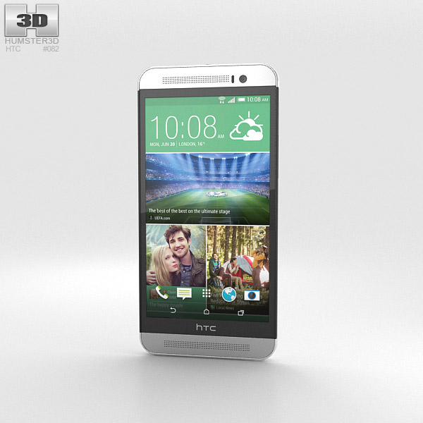 3D model of HTC One (E8) White