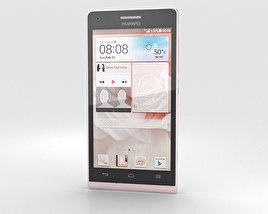 3D model of Huawei Ascend G6 Pink