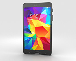 3D model of Samsung Galaxy Tab 4 7.0-inch Black