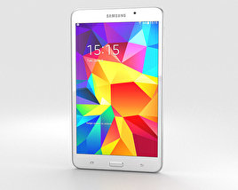3D model of Samsung Galaxy Tab 4 7.0-inch White