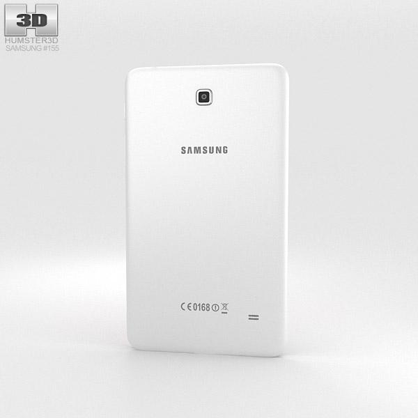 Samsung Galaxy Tab 4 7.0-inch White 3d model