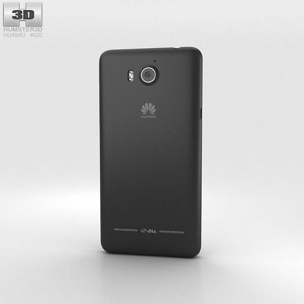 Huawei Ascend G600 Black 3d model