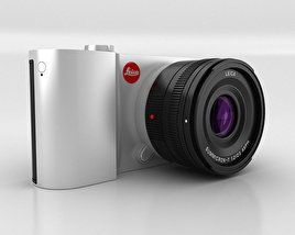 3D model of Leica T Silver