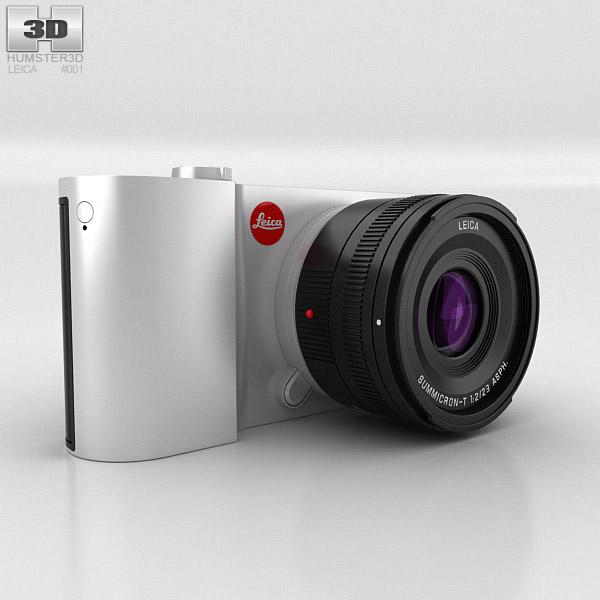 Leica T Silver 3D model