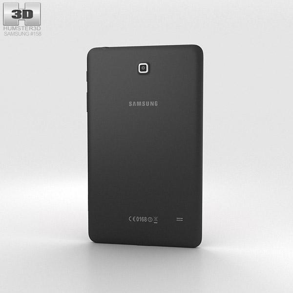 Samsung Galaxy Tab 4 8.0-inch Black 3d model