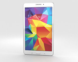 3D model of Samsung Galaxy Tab 4 8.0-inch White