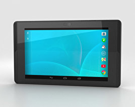 3D model of Google Project Tango Tablet Black