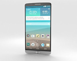 3D model of LG G3 Silk White