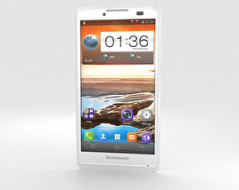3D model of Lenovo A880 White