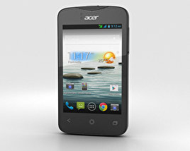 3D model of Acer Liquid Z3 Rock Black