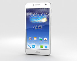 3D model of Asus PadFone X Platinum White