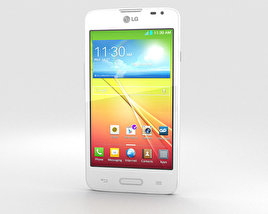 3D model of LG L65 White