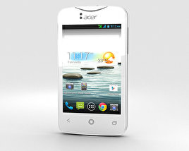 3D model of Acer Liquid Z3 Classic White