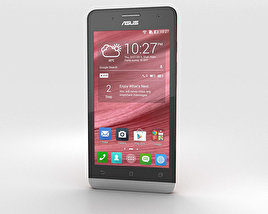 3D model of Asus Zenfone 5 Cherry Red