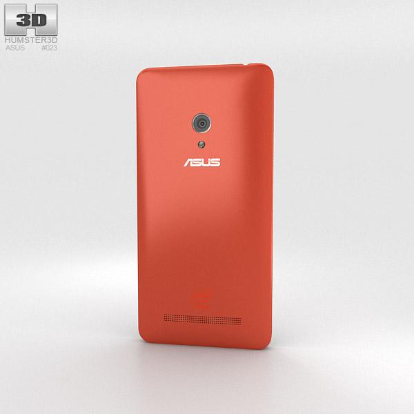Asus Zenfone 5 Cherry Red 3d model
