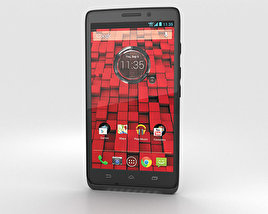 3D model of Motorola Droid Maxx Black
