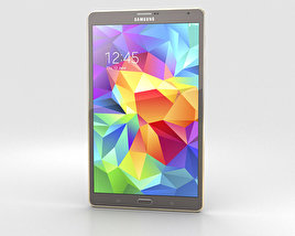 3D model of Samsung Galaxy Tab S 8.4-inch Titanium Bronze
