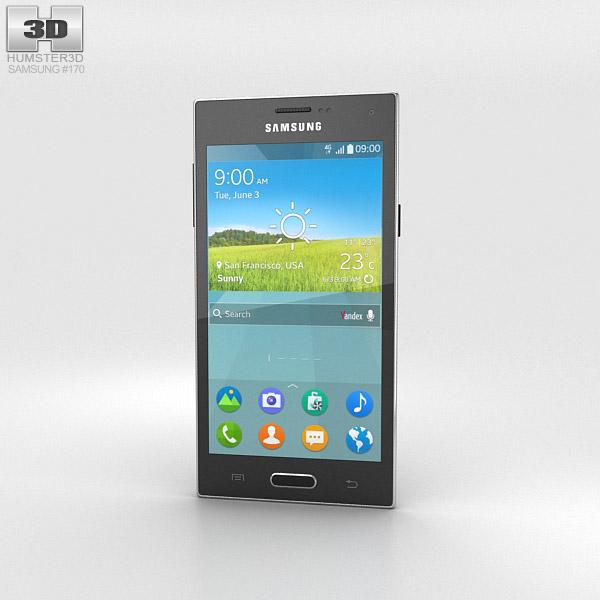 Samsung Z Black 3d model
