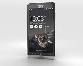 3D model of Asus Zenfone 6 Charcoal Black