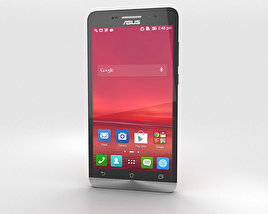 3D model of Asus Zenfone 6 Cherry Red
