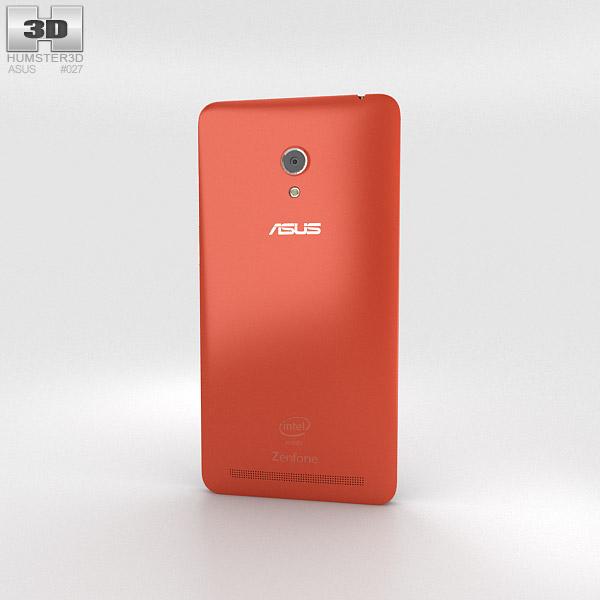 Asus Zenfone 6 Cherry Red 3d model