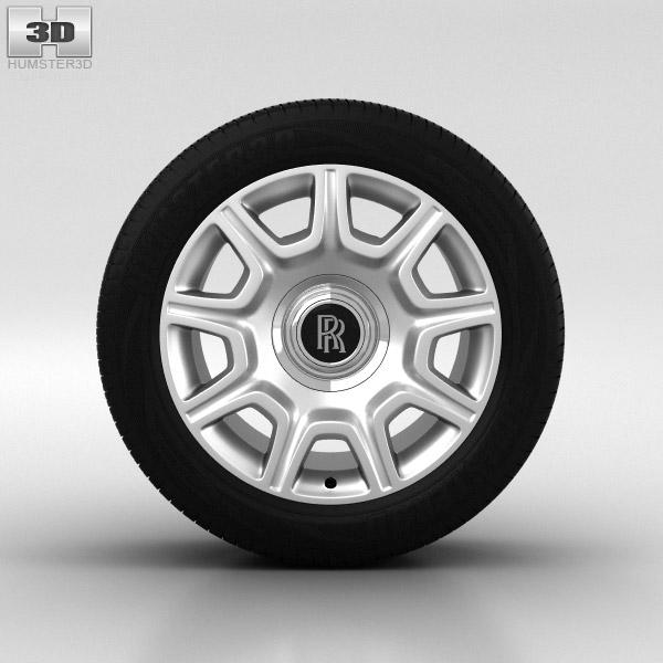 3D model of Rolls-Royce Ghost Wheel 19 inch 001