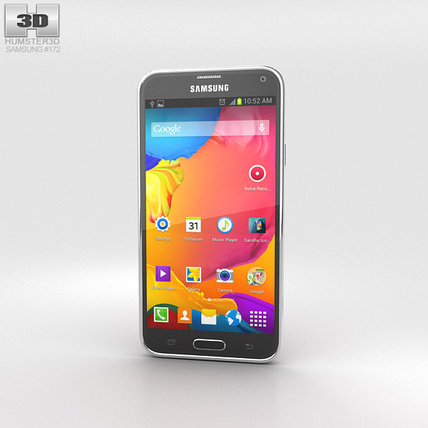 Samsung Galaxy S5 LTE-A Glam Red 3d model