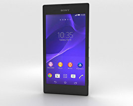 Sony Xperia T3 Black 3D model