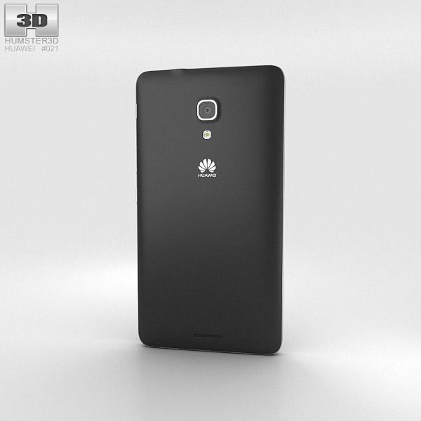 Huawei Ascend Mate 2 4G Crystal Black 3d model