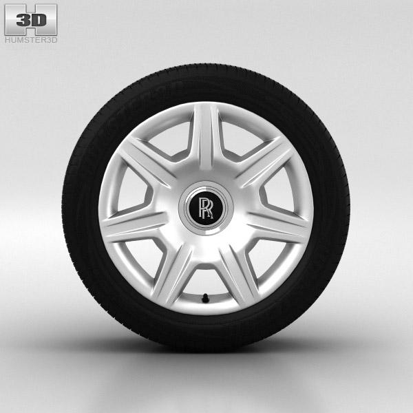3D model of Rolls-Royce Ghost Wheel 20 inch 001