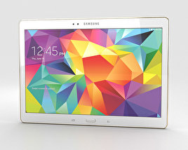 3D model of Samsung Galaxy Tab S 10.5-inch Dazzling White