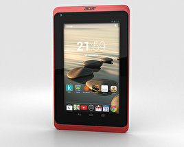 3D model of Acer Iconia B1-720 Red
