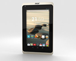 3D model of Acer Iconia B1-720 White