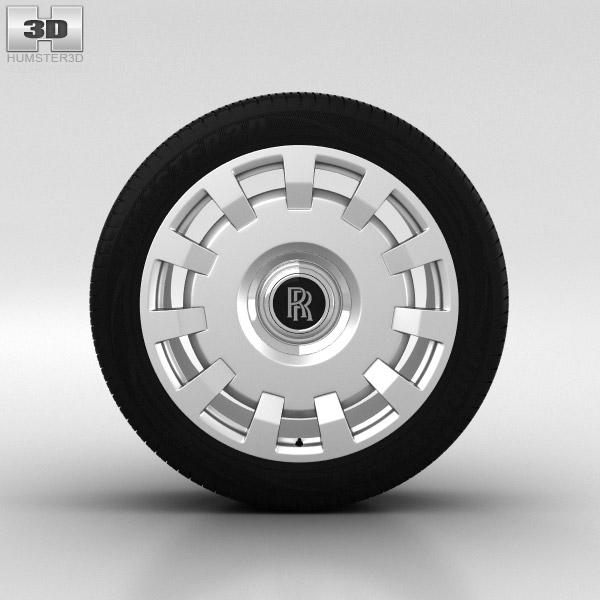 3D model of Rolls-Royce Ghost Wheel 20 inch 002
